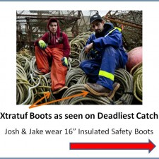 The Boots Used on Deadliest Catch