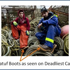 Xtratuf Boots used on TV Show Deadliest Catch