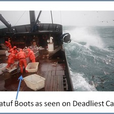 Fishing Boots used on Deadliest Catch