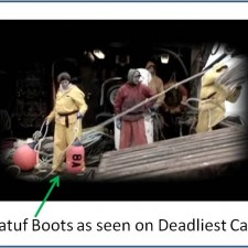 Discovery Channel Deadliest Catch | Boots Used On