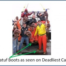 TV Show Deadliest Catch used Xtratuf Fishing Boots