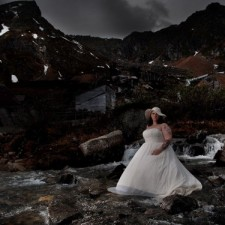 Photographer wears xtratufs to photo shoot
