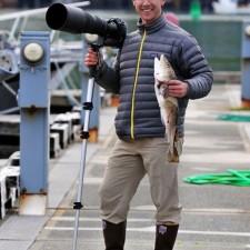 RJ Kern wearing Xtratuf Boots