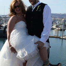 Crab FIsherman and his Xtratuf Bride